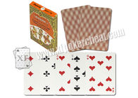Russian Piatnik Paper Side Marked Poker Cards Work For Poker Scanner Magic Trick