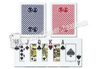 Plastic Gemaco Invisible Marked Poker Cards / Playing Cards For Gambling Magic Show