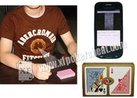 Marked Playing Cards Poker Scanner Orange T - Shirt IR Cameras With Four Lens