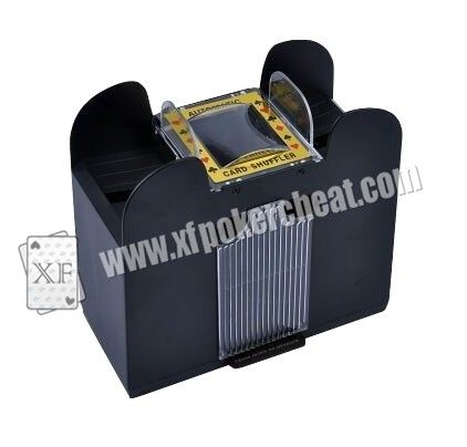 Plastic 6 Deck Automatic Card Shuffler With One Camera For Baccarat Cheating