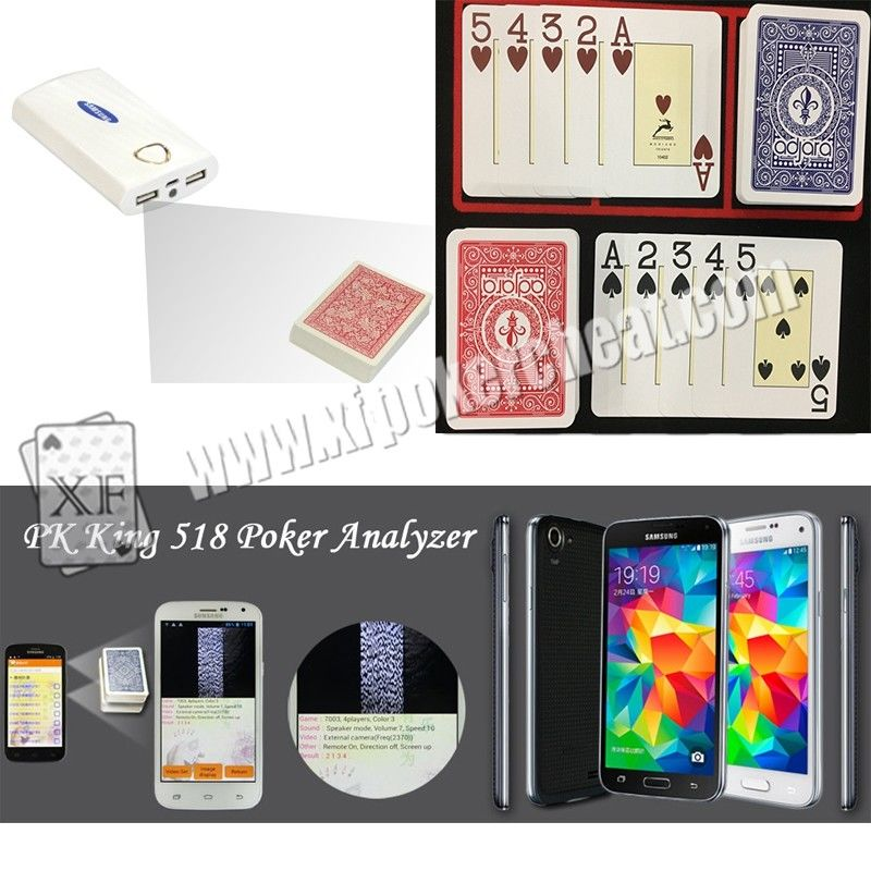 Modiano Adjara Plastic Marked Playing Cards for Poker Scanner Analyzer Reader