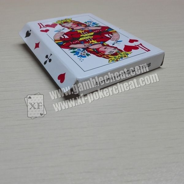 Invisible Z.X.M No.9810 Paper Playing Cards For Poker Scanner Analyzer Read