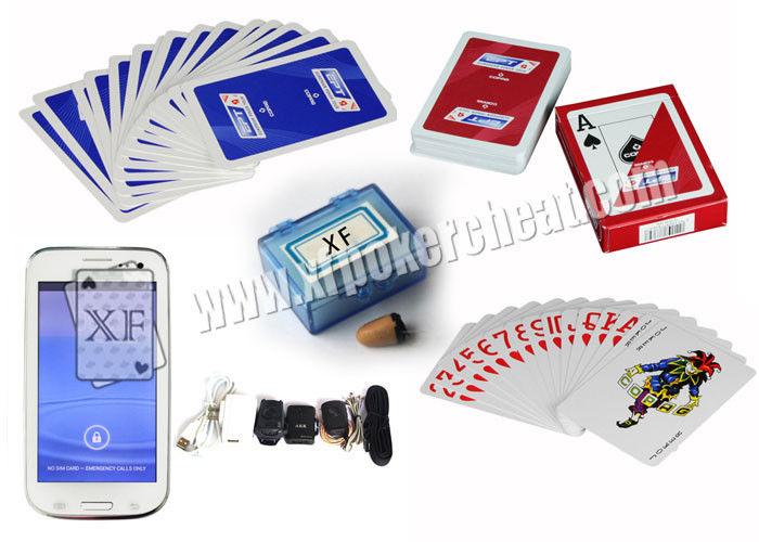 Tarjetas marcadas del póker del plástico del EPT de Bélgica Copag ...