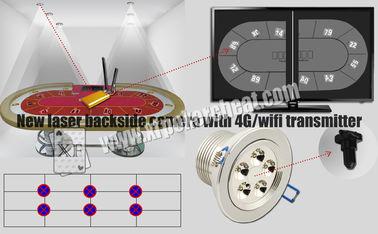 Escáner del naipe de la cámara del lado trasero del laser de las luces blancas con el transmisor de 4g Wifi